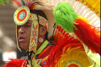 Pow Wow in Cherokee includes Dancing Competition