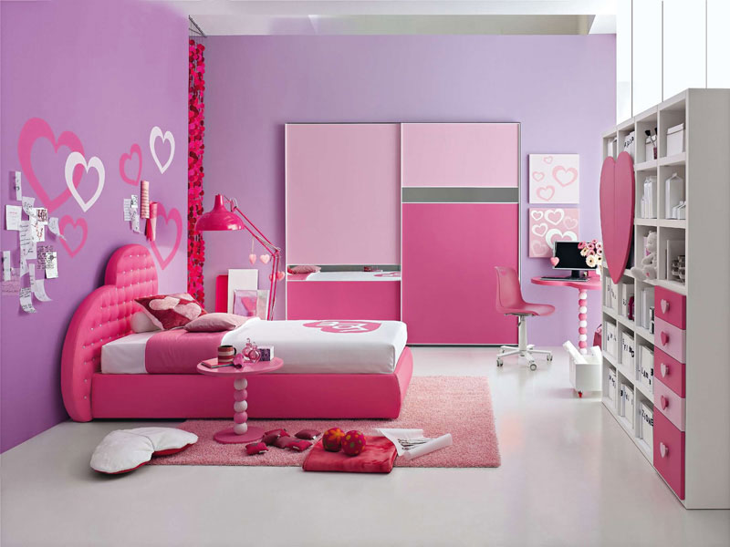 Modernos dormitorios para niñas - Kitchen Design Luxury Homes 2012