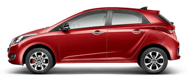 Hyundai HB20 2016 R-Spec - Vermelho