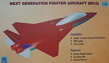 Design of Next Generation Fighter Aircraft under development