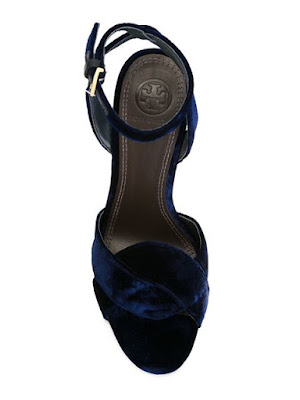 Tory Burch chunky high heeled sandals with embellishments