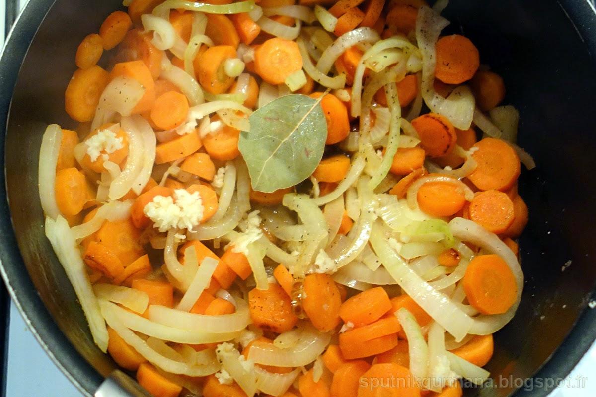 Киш с морковкой и грудинкой: приготовление