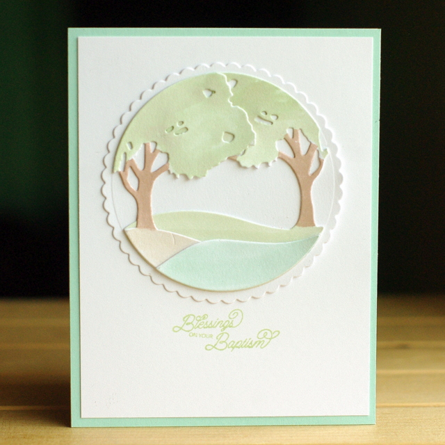 A Baptism Card Leigh Penner @leigh148 #cards