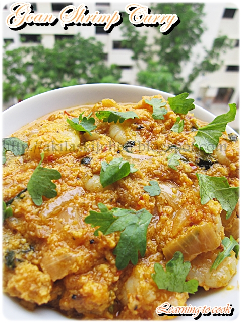 2-Goan Shrimp Curry