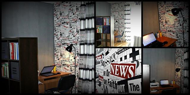 przestrzeń biurowa w mieszkaniu Eco Manufaktura