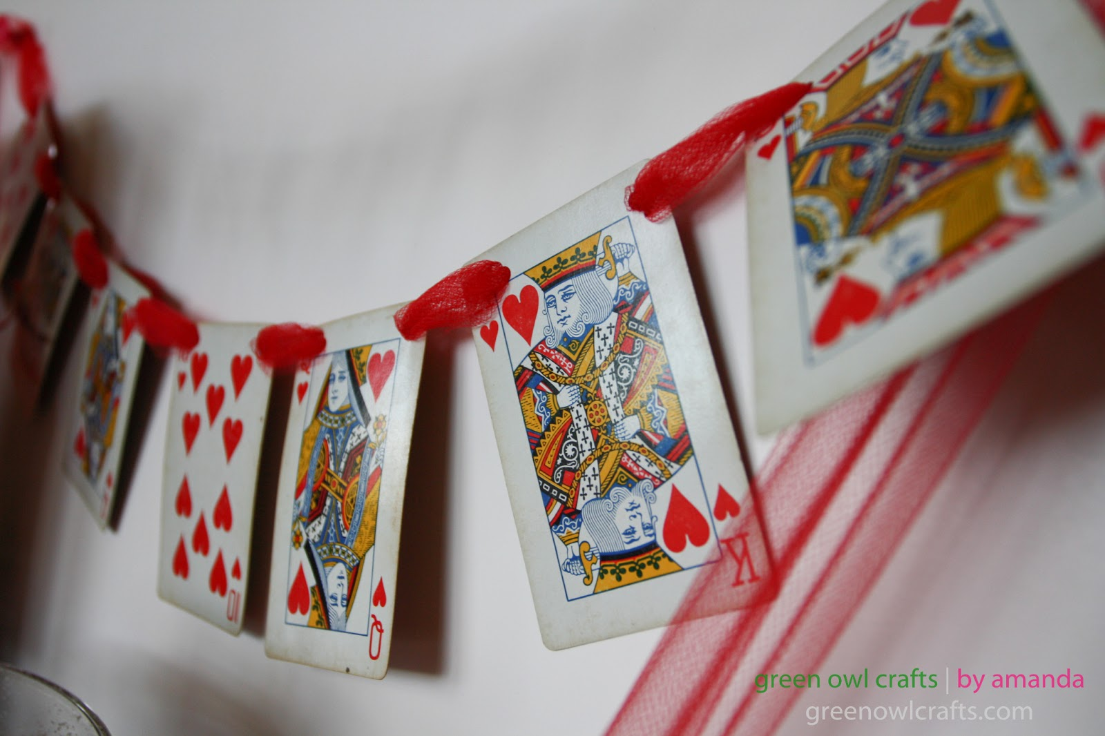 AmandaBaity Valentine Romance Banners Records Cupcakes – Valentines Playing Cards