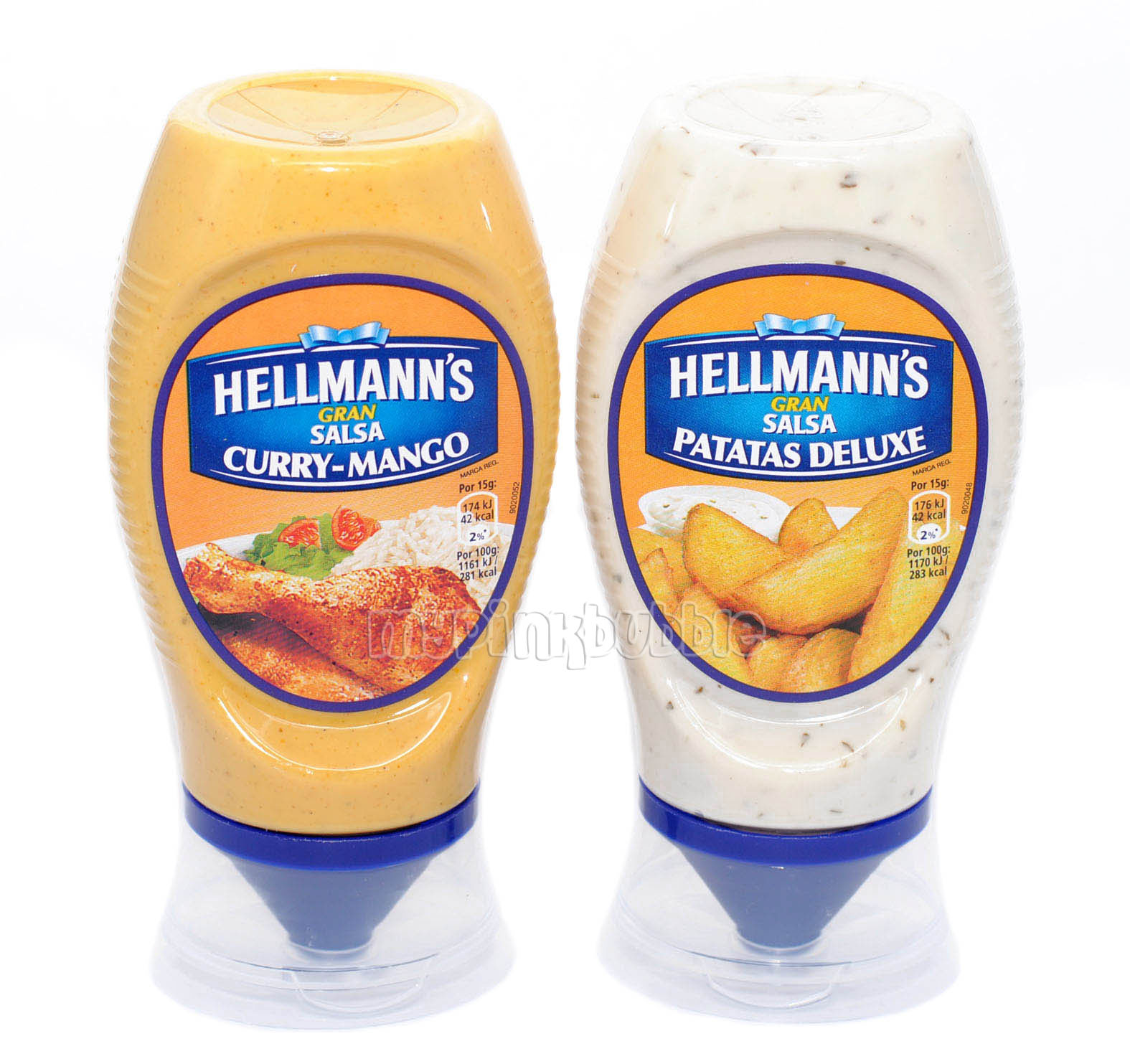 Hellmanns salsa patatas deluxe curry-mango