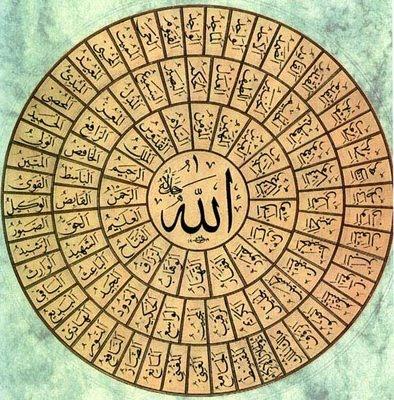 Asmaul Husna 99 Nama Allah SWT ~ ISLAM WALLPAPERS