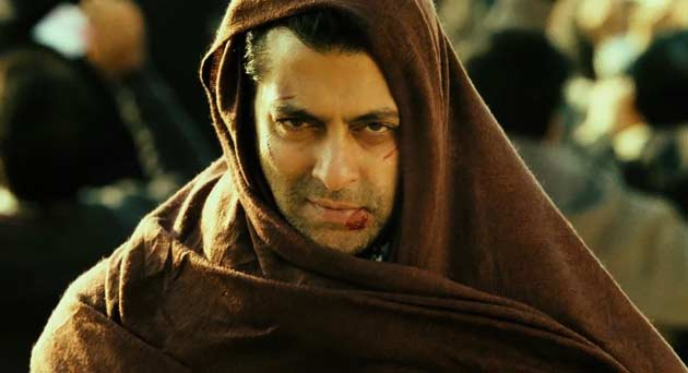 Salman Khan in Ek Tha Tiger Wallpaper