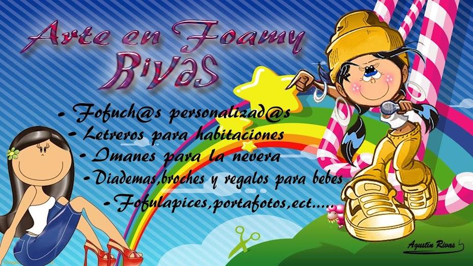 Arte en Goma Eva y Foamy Rivas