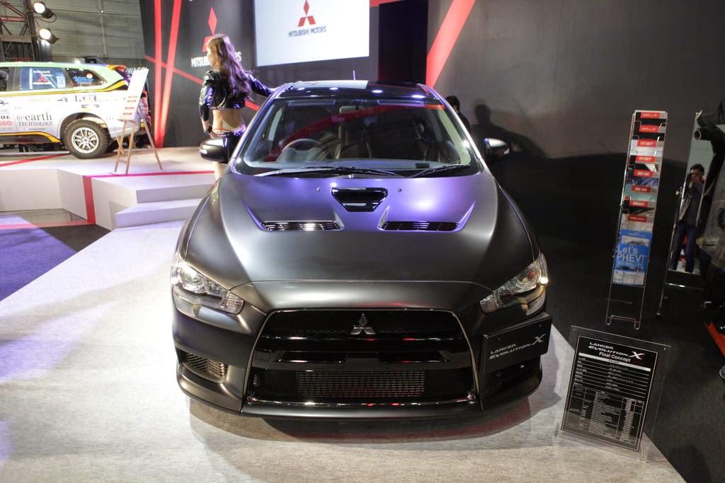 Mobil Mitsubishi Siapkan Kejutan Lancer Evolution Final Edition