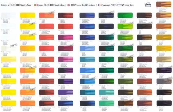 gama de colores pintura de interior: