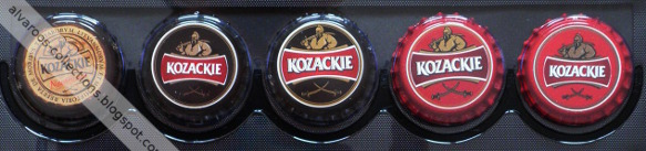 beer caps collection - Kozackie