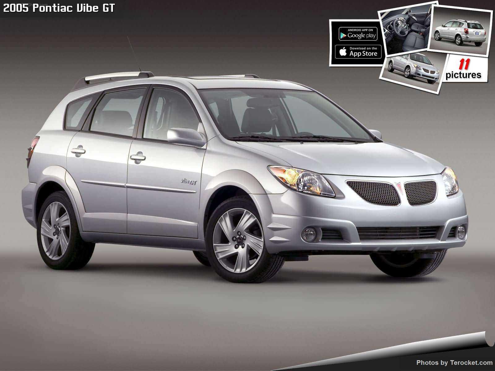Hình ảnh xe ô tô Pontiac Vibe GT 2005 & nội ngoại thất