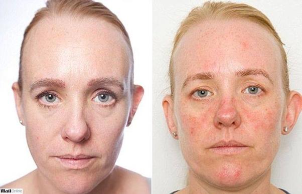 Jornalista fica um mês sem tirar a maquiagem