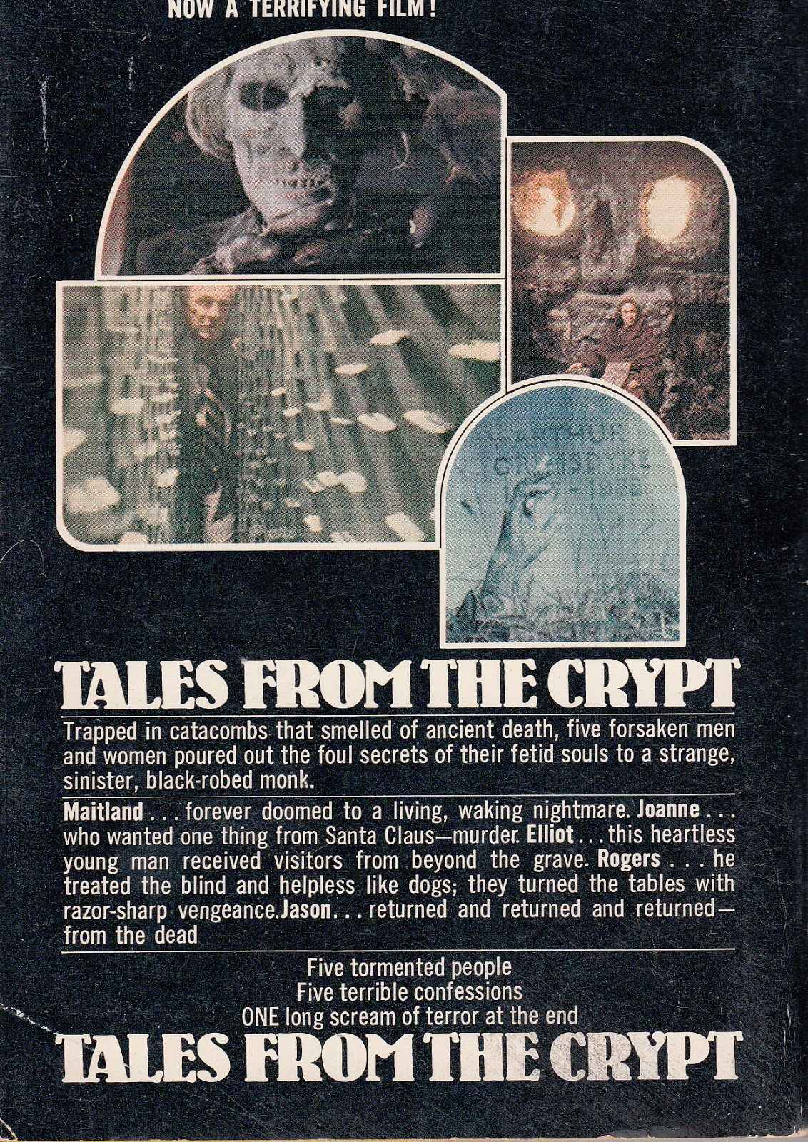Tales From The Crypt Contents