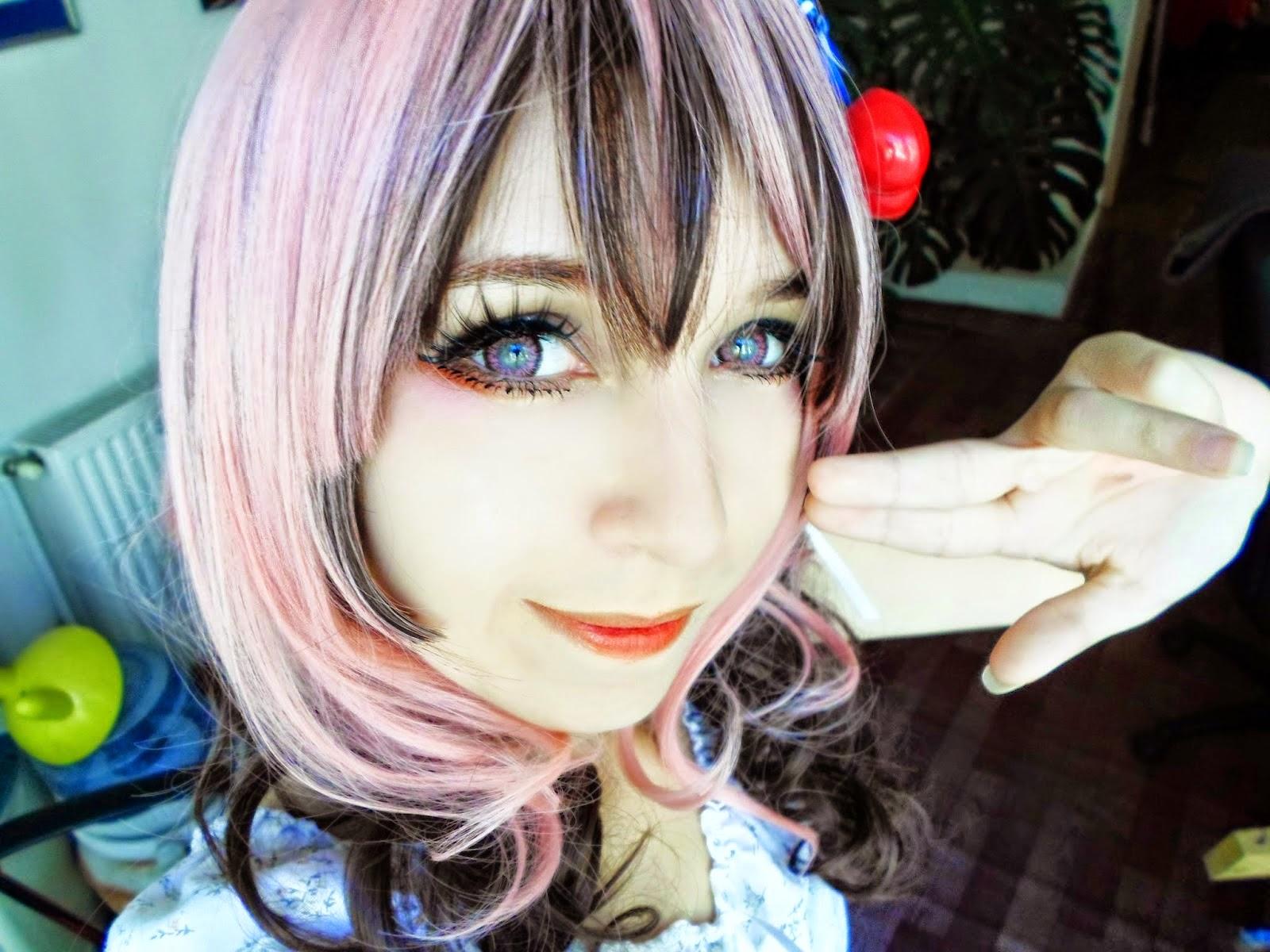 Subtle Pink Circle Lenses for Light Eyes: I.Fairy Jewel Pink