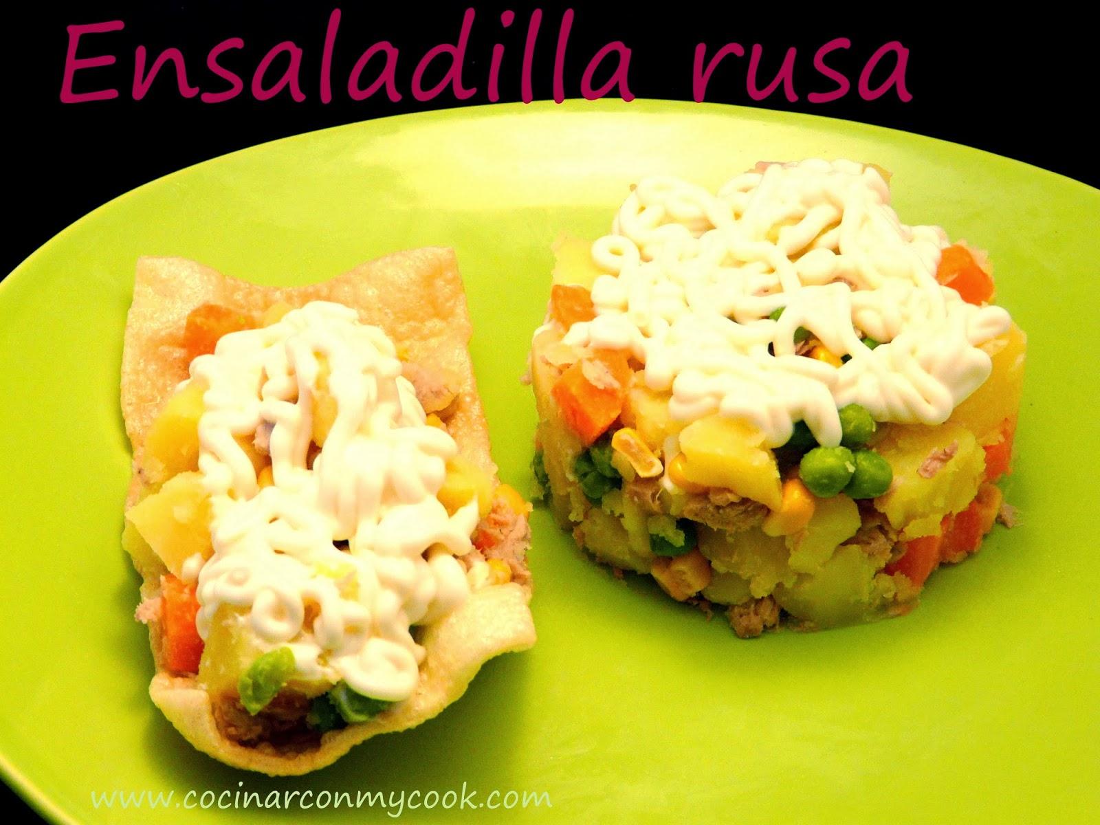 Cocinar con mycook ensaladilla rusa for Cocinar ensaladilla rusa