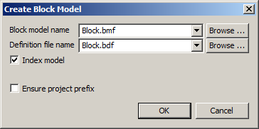 create block model