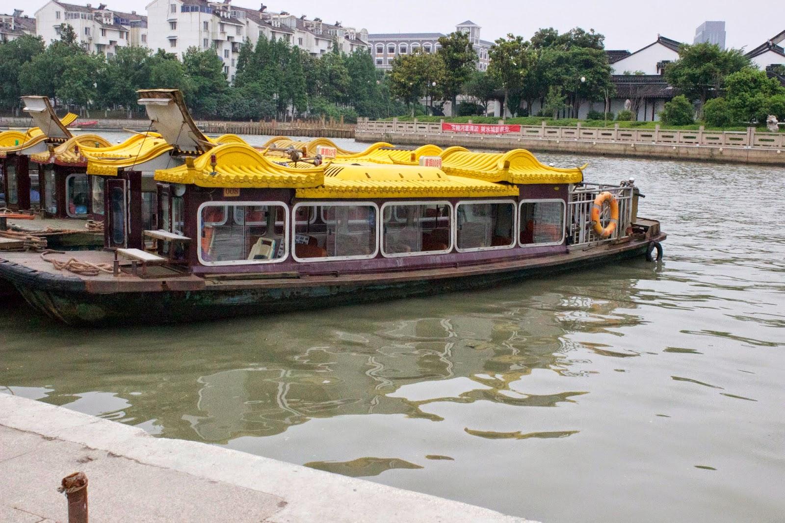 suzhou canal boat ride