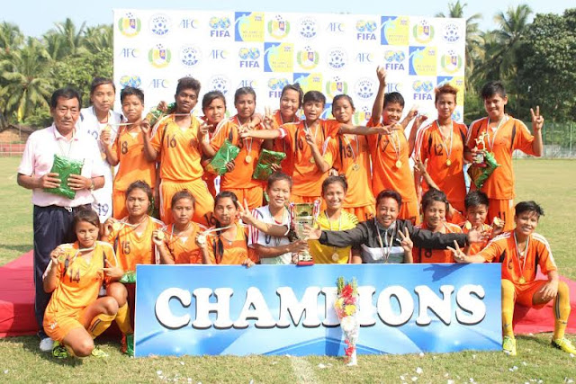 Manipur beat Odisha in the finals of U18 Girls National Championship