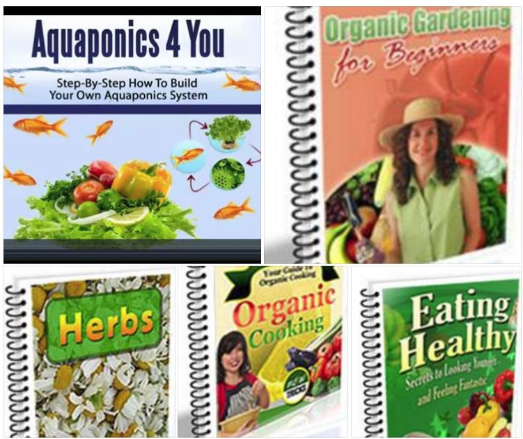 AQUAPONICS FOR YOU + 7 ADDITIONAL BOOKS