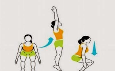 Derretir 200 calorías en sólo 20 minutos con estos ejercicios simples
