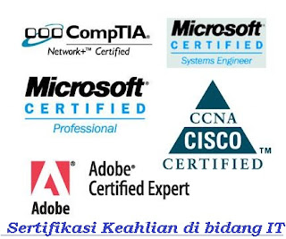 Sertifikasi Keahlian di bidang IT
