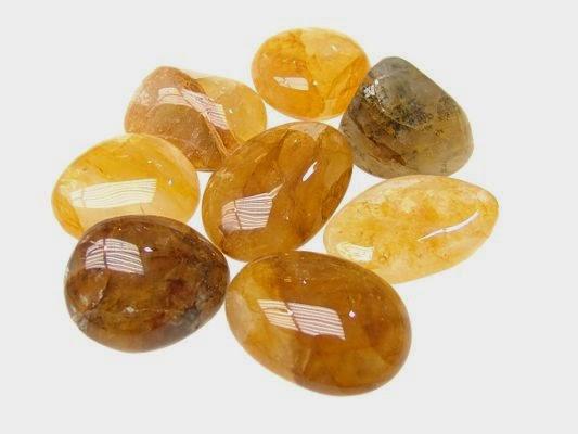 el poder de las piedras preciosas citrino