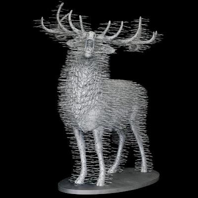 Creative and Cool Coat Hangers Sculptures (10) 2