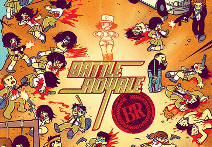 Battle Royale by Bryan Lee O&#8217;Malley and Kevin Tong