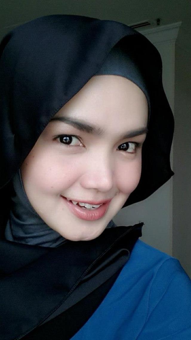 Gambar Siti Nurhaliza Cantik Bertudung Sempena Hari Lahir Ke-34