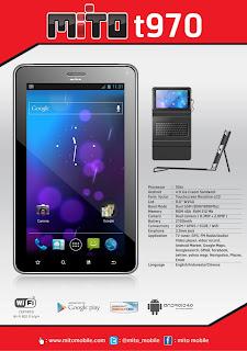 Mito T970 Tablet Book Harga Spesifikasi