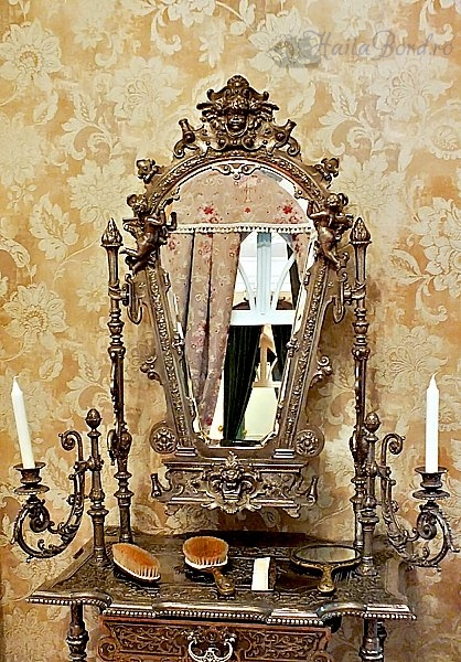 masa toaleta palatul ruginoasa