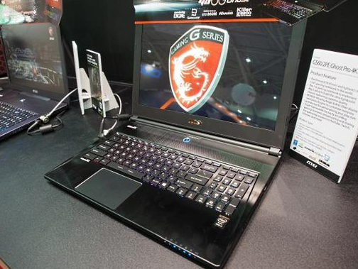 MSI GS60 PE2 Ghost Pro Gaming Laptop