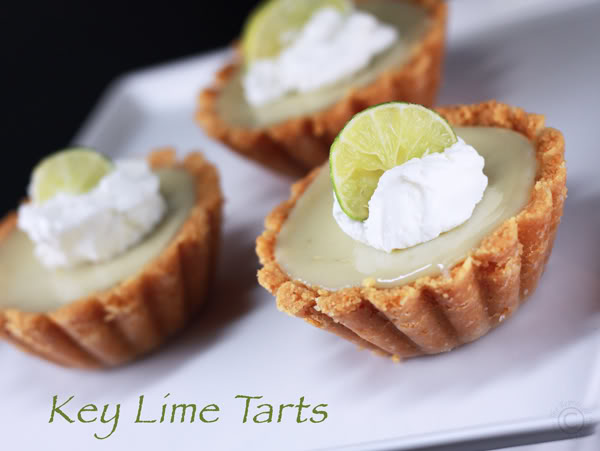Tarts On Demand: Key Lime Tarts