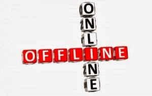 trabajo online offline