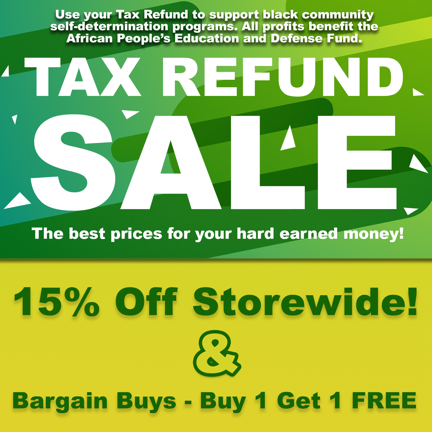 Use Your Tax Refund to Support Black Community Self-determination