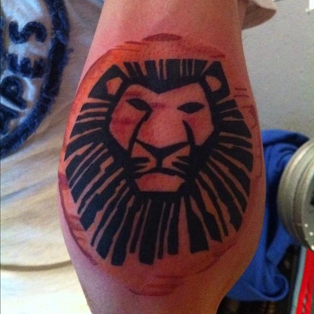 Lion king tattoo - photo#4