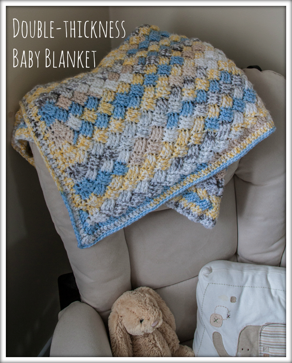 Charisma Yarn Baby Blanket: My Homemade Trials Files: {Thick Baby Blanket}