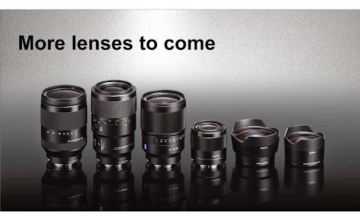 sony e-mount lens roadmap photokina 2014 september