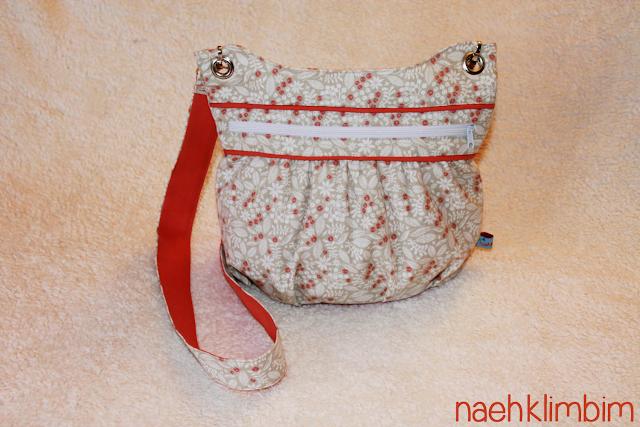 Handtasche KIRA nach meinem freebook - für meine kleine Schwester