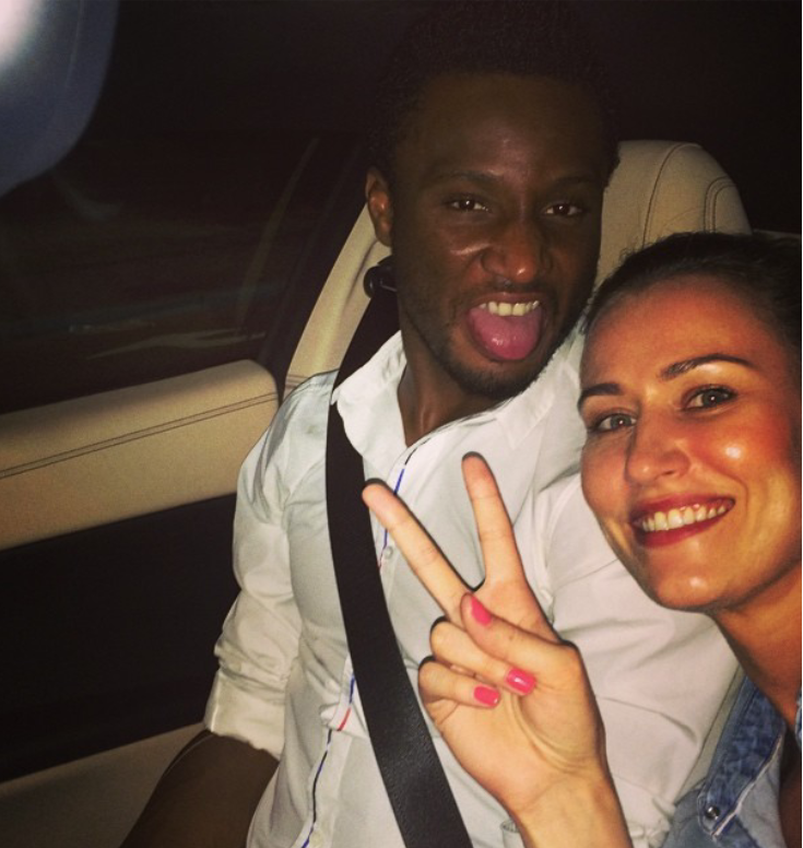 mikel obi white girlfriend engaged