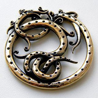 купит кулон змей кельтский скандинавская подвеска украина