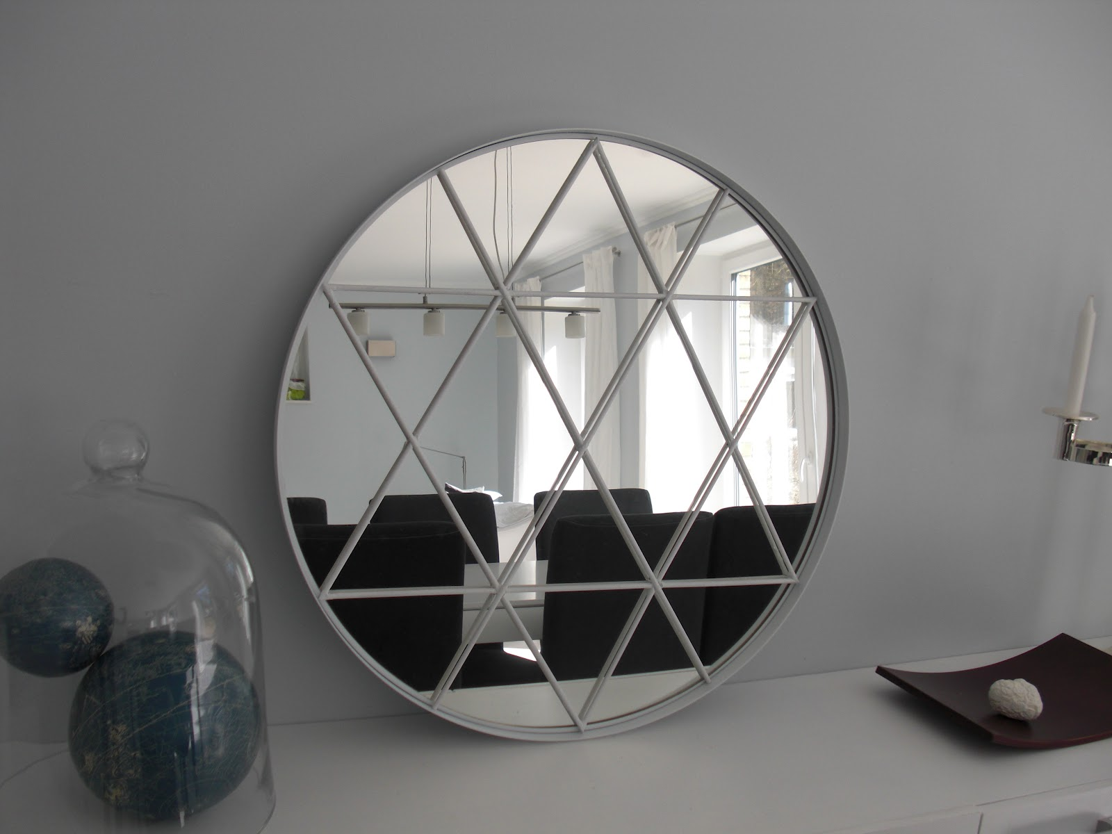 this beautiful star mirror ikea hack was made using this 2999 mirror i love a good ikea hack dont you check beautiful diy ikea