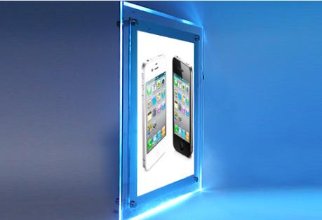 cuadro fabricado de material acrlico de alta resistencia de mm de grosor lleva incorporada tecnologa de luz led rgb bugui es altamente visible