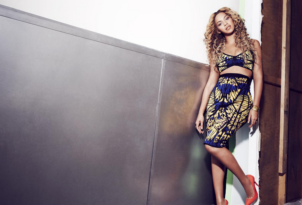 beyonce knowles by cliff watts magazine photoshoot for