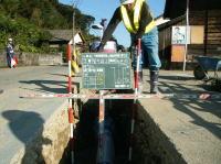 水道施設工事写真