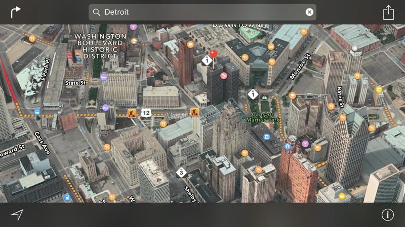 FlyOver nos Mapas