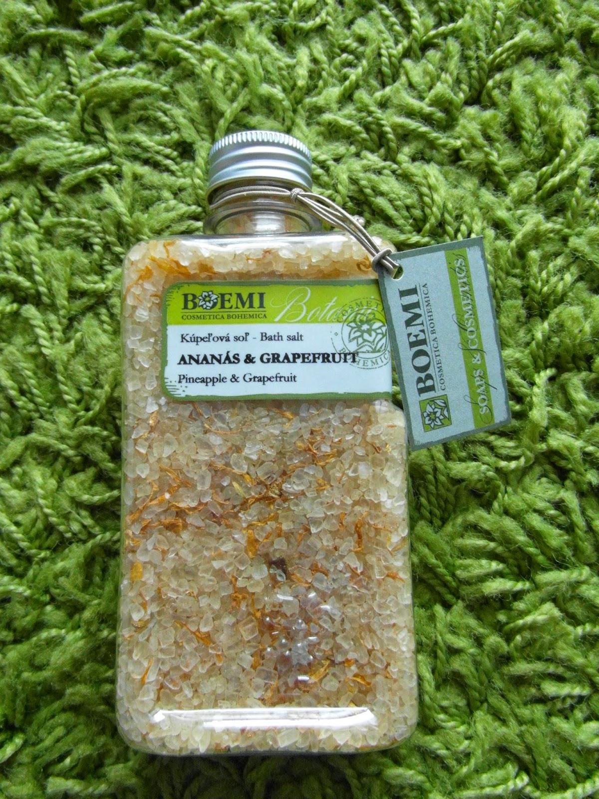 Kúpeľová soľ Boemi